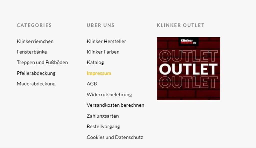 Sprzedaż w Niemczech - obowiązki sprzedawcy - Impressum